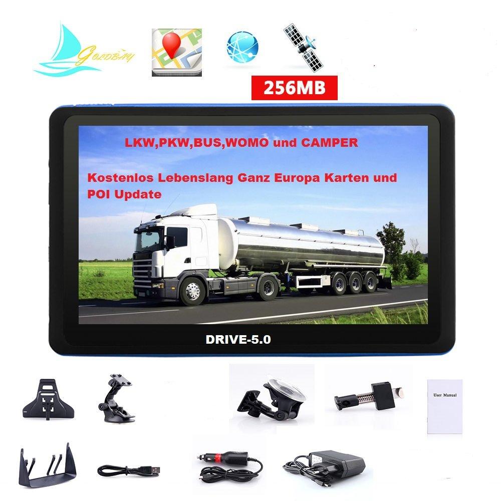 GPS DRIVE-7.0 de 7' HD camiones, coche, autobú s, una autocaravana. Europa nuevos mapas 2017 autobús Electronics-Master