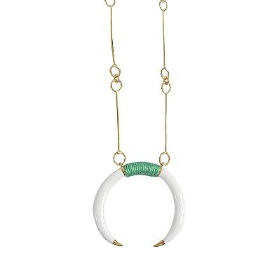 Caftan Moon baby horn earrings Aur SOHb6nGr