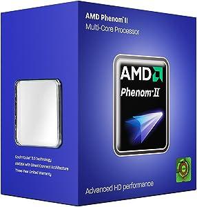 AMD Phenom II X4 925 Deneb 2.8 GHz 4x512 KB L2 Cache Socket AM3 95W quad core Processor - Retail HDX925WFGBIBOX