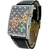 Super cool futuristischen roten, gelben und grünen LED Uhr - Das ultimative Gadget