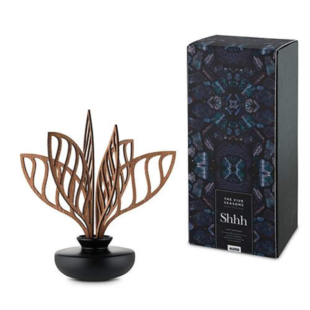 Alessi The Five Seasons Shhh Leaf Home Diffuser, Scented, by Marcel Wanders