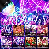Albrillo Sound Activated Party Lights, Remote