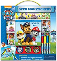 Bendon Paw Patrol Sticker Box with Pad & Markers