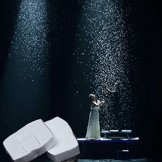 12Pcs Enjoyer Flocons de Neige Neige Papier Astuces Magiques Accessoires Finger Snowstorm Stade Magique Illusion Magicien Effets Gimmick Sac