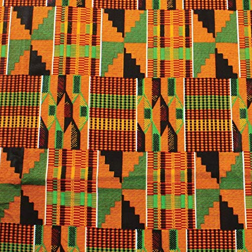 African kente fabric Fabric #7- One yard cotton 44