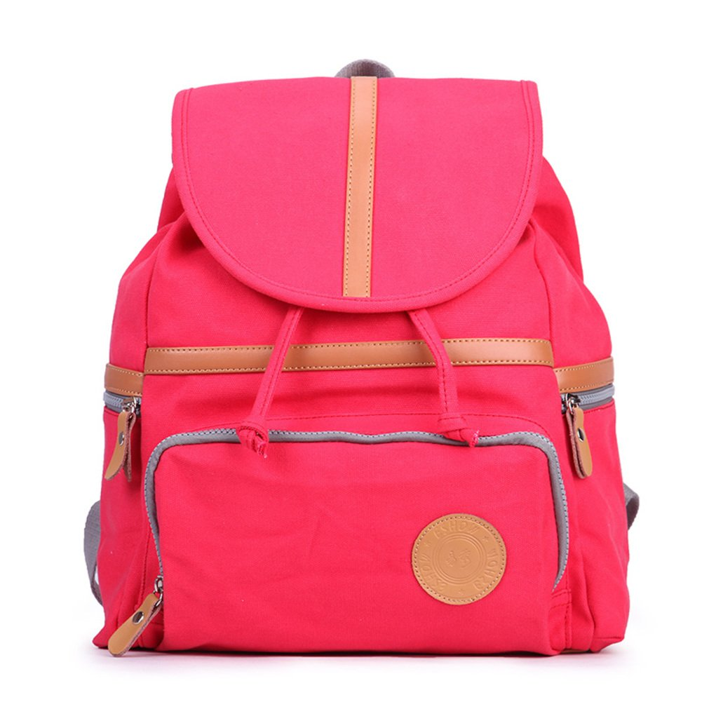 Fashion backpack/Canvas bag/School bags/Travel sports-D