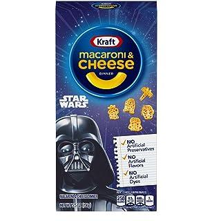 Kraft Original Flavor Macaroni & Cheese Star Wars Shapes (5.5 oz Boxes, Pack of 12)