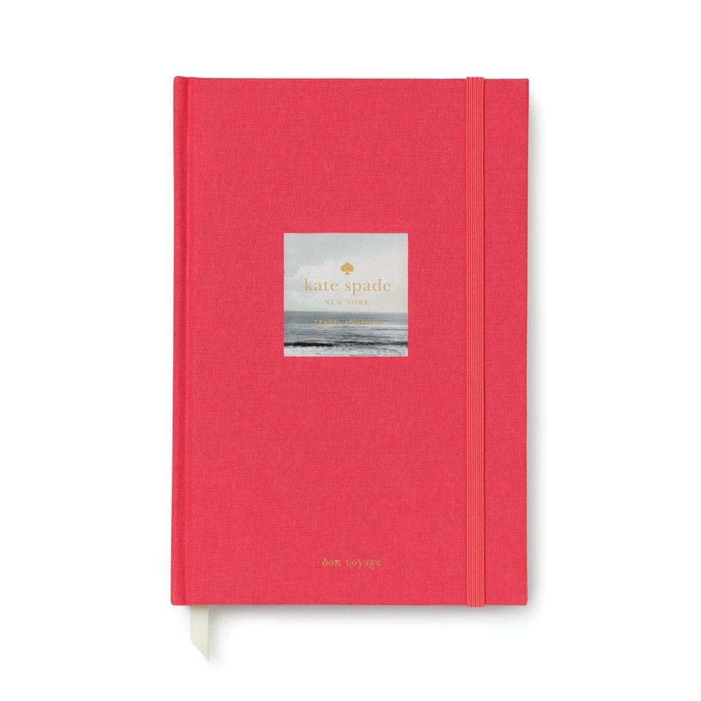 Kate Spade New York Women's Bon Voyage Travel Journal, Pink, One Size