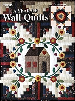 Book A Year Of Wall Quilts (Leisure Arts #1740) by Leisure Arts (1997-06-01)