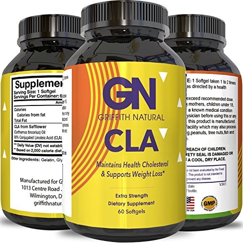 CLA Safflower Oil Weight Loss – Lose Belly Fat – Conjugated Linoleic...