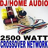 2500 WATT DJ/HOME AUDIO CROSSOVER NETWORK 3-WAY NEW!