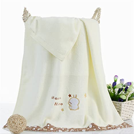M & F 70 x 140 cm 100% algodón toalla de baño de los niños