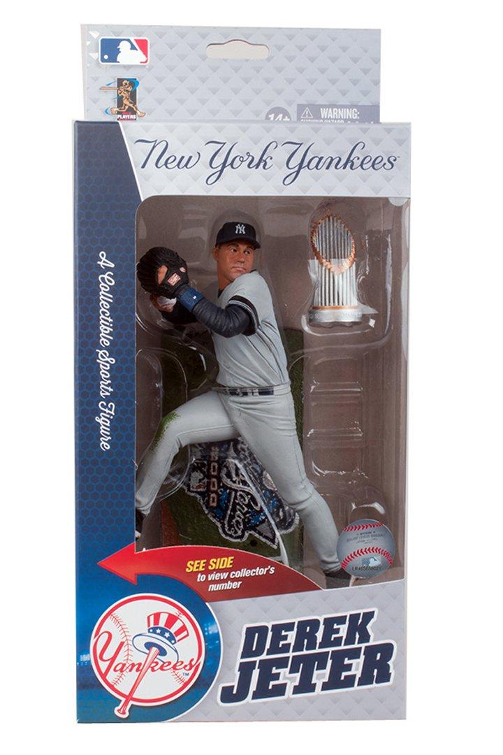 2000 World Series Commemorative MLB McFarlane #//3000 Derek Jeter New York Yankees