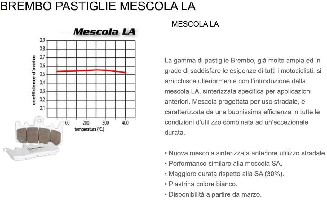 Pastiglie Brembo Freno Anteriori 07BB37.LA HYPERMOTARD S 1100 2007  2009
