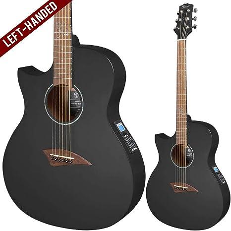 Lindo SLIM negro INFINITY de ORG-SL – Guitarra electroacústica ...