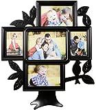 Deep Family Tree 5 In 1 Photo Frame Black