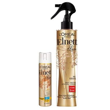 L Oréal Paris elnett de Luxe – Calor Styling de spray rizos Plus Mini para