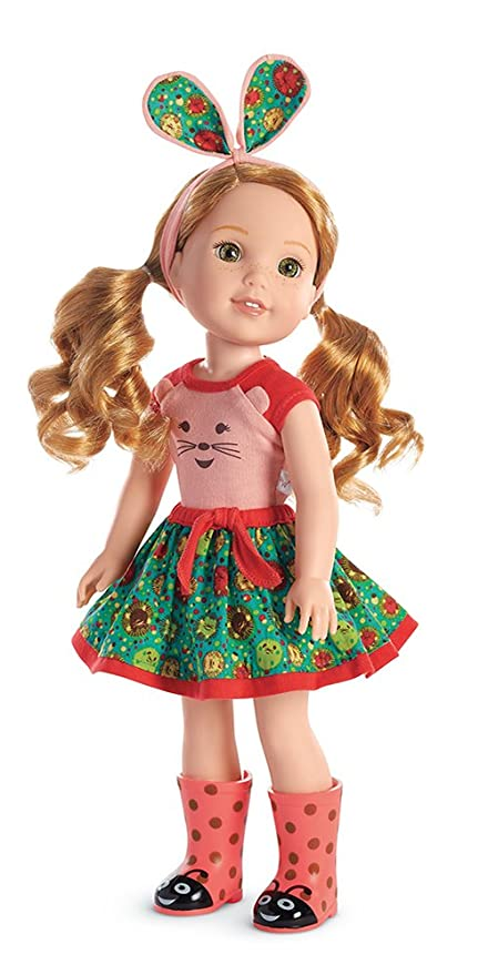 8cc640acb19 Amazon.com  American Girl WellieWishers Willa Doll  Toys   Games