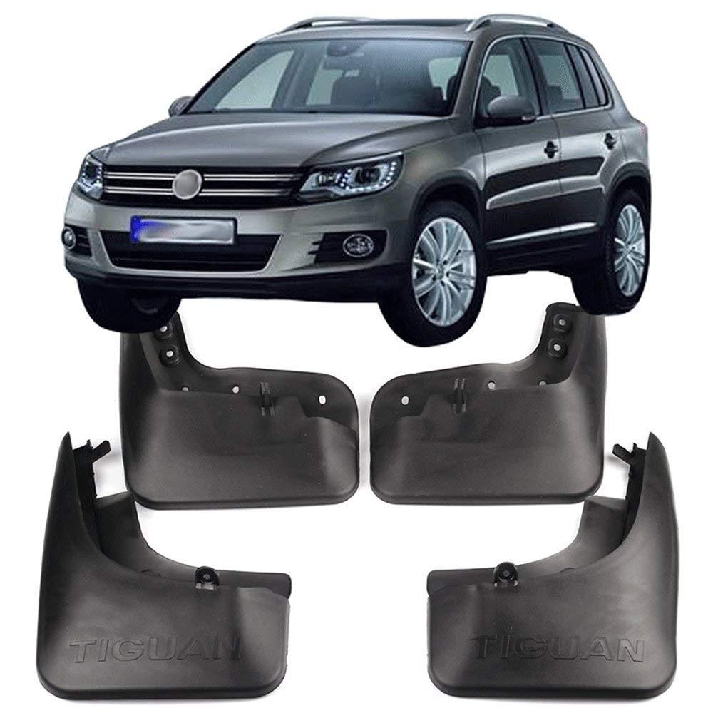 f/ür Volkswagen Tiguan 2016-2019 Vorne Hinten Spritzschutz Schmutzf/änger Klappe Kotfl/ügel SUVBUSI 4 St/ücke Set Geformte Schmutzf/änger