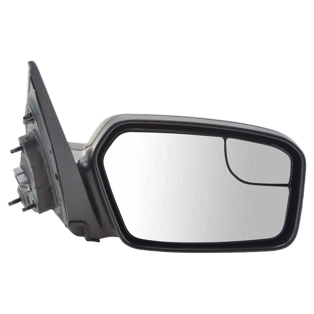 Power Blind Spot Glass Texture Black Mirror RH Passenger Side for Fusion Milan