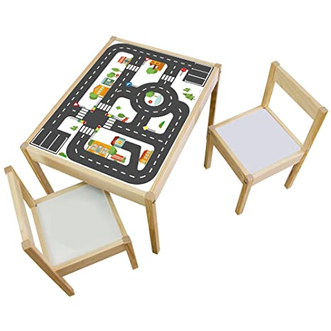 Limmaland Muebles Adhesivos Infantiles Calles Compatible con IKEA ...