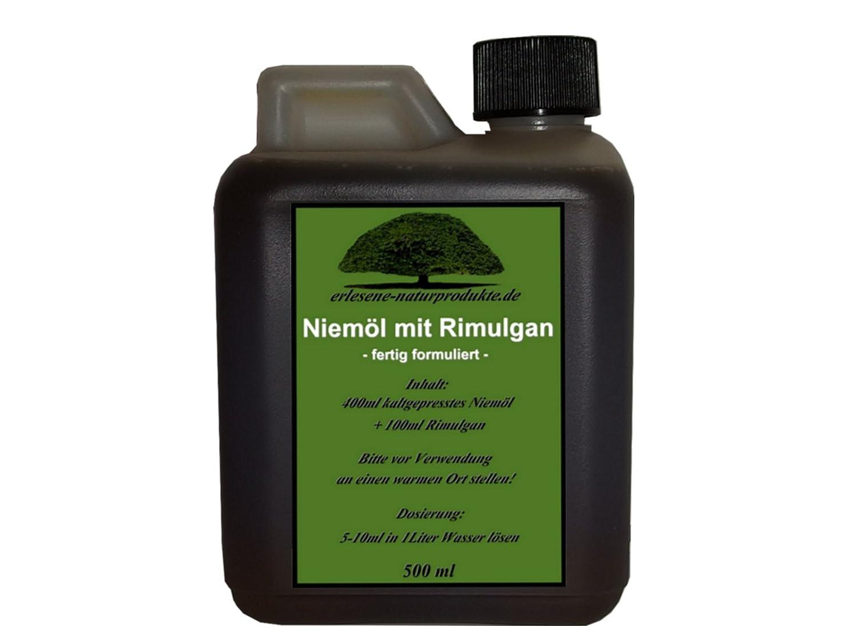 Niemöl mit Rimulgan (Emulgator) 500ml / Niem Neem ***FERTIG GEMISCHT***von erlesene-naturprodukte.de erlesenene-naturprodukte.de