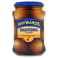 Haywards Medium and Tangy Traditional Onions, 400 g, Pack of 6