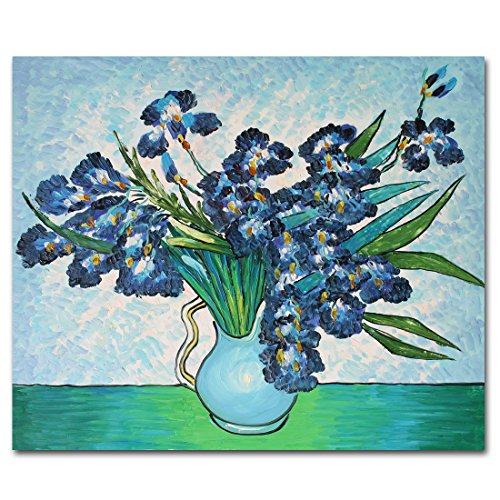 Muzagroo Art Van Gogh the Iris Painting Painted on Canvas