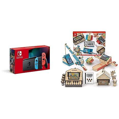 Nintendo Switch - Consola color Azul Neón/Rojo Neón (Modelo ...