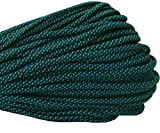550 Paracord / Parachute Cord, 100 Metters(328 feet), 800 lb Tensile Strength, Type III Paracord, 7 100% Nylon Core Strands Each Twisted from 3 Individual Strands, 5/32''(4mm) Diameter Cobalt Blue