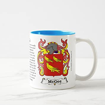 Amazon Zazzle Mcgee The Origin The Meaning And The Crest On
