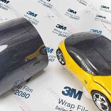 3m 1080 Gloss Black Metallic G212 Vinyl Car Wrap Film 5ft X 10ft 50 Sq Ft W Free Style It Pro Wrapping Glove Auto