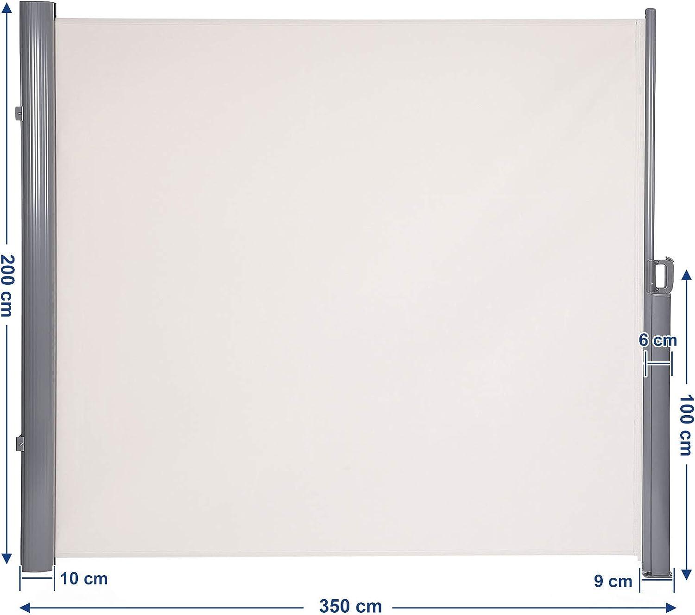 Songmics 200 X 350 Cm H X L Seitenmarkise Fur Balkon Und