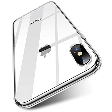 c3f5abace1795f TORRAS HD Clear iPhone X Case, iPhone XS Case with [Tempered Glass Screen  Protector
