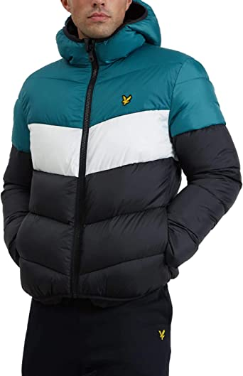 Men Winter Block Jacket LyleScott PuffaTaille XL Colour wiOPXZTlku