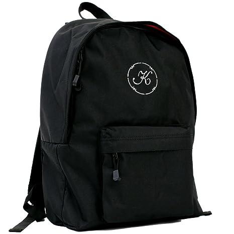 a8b9cac637b5 リュック キッズ スクールバッグ ロゴまる 黒 デイパック 名入れ オリジナルロゴ刺繍 高強度 コーデュラ