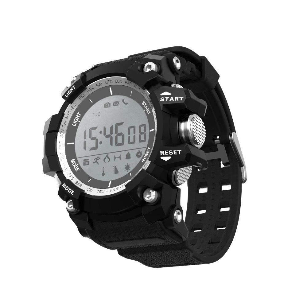 Ambiguity Fitness-Armband,Wasserdichte Blautooth Smart Armband elektronische Uhr Motion m Schritt Anruf Informationen Erinnerung Armband