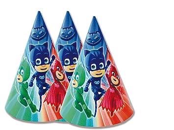 PJ Masks Sombreros para decoración de Fiestas (Verbetena 016001322)