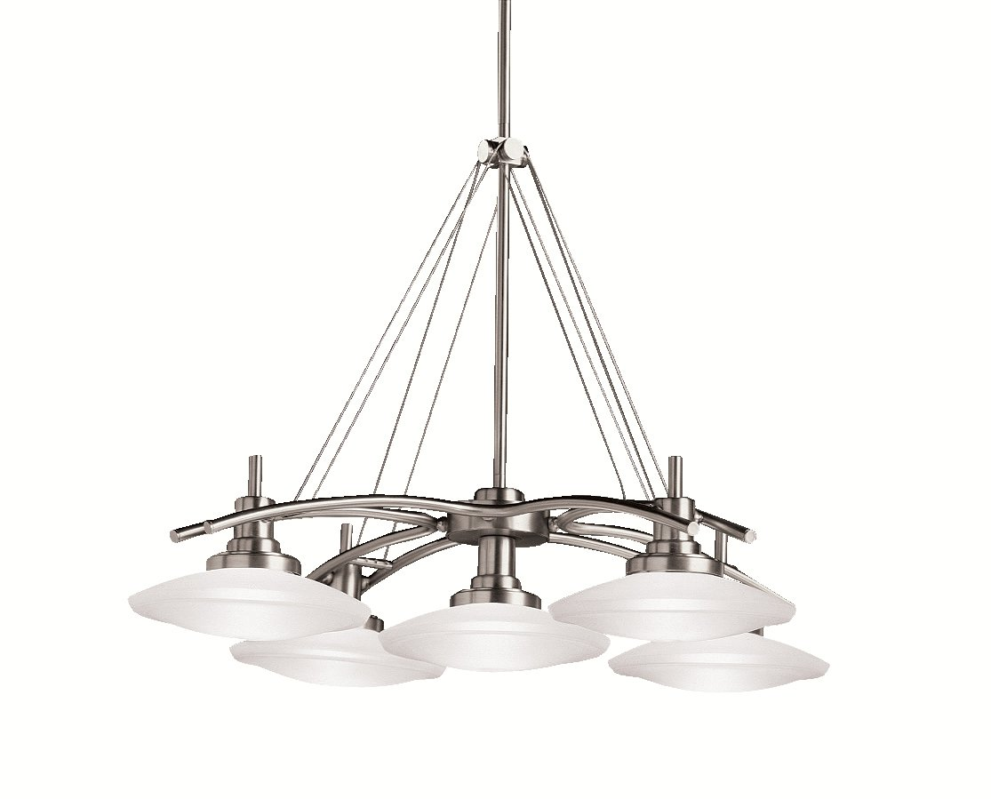 Kichler 2055ni five light chandelier ceiling pendant fixtures kichler 2055ni five light chandelier ceiling pendant fixtures amazon arubaitofo Image collections