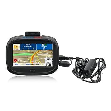 Excelvan IW43 - Navegador GPS Para Coche y Motocicleta (Windows CE 6.0, Pantalla TFT