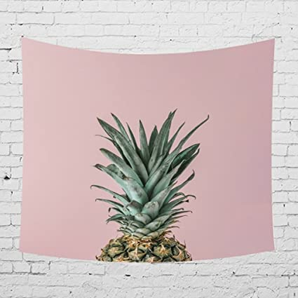 BG/_ Fashion Pineapple Banana Leaf Wall Hanging Tapestry Beach Towel Blanket Good
