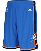 Oklahoma City Thunder Adidas Royal Swingman Performance Shorts