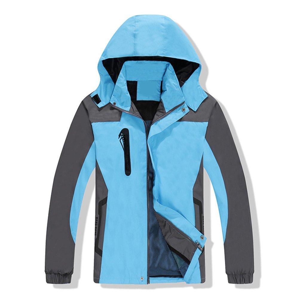 Winter Jacket Hooded Waterproof Warm Outdoor Hiking Skiing for Men, Women