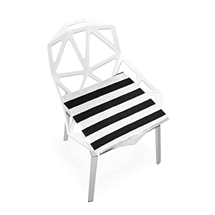 Superb Amazon Com Xinxin Seat Cushion Black White Stripe Cushions Short Links Chair Design For Home Short Linksinfo