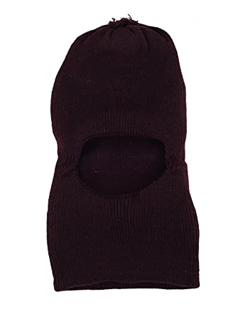 shishu.online Unisex Kids Plain Woolen Knitted Monkey Cap  Amazon.in ... 83cb8eb8914b