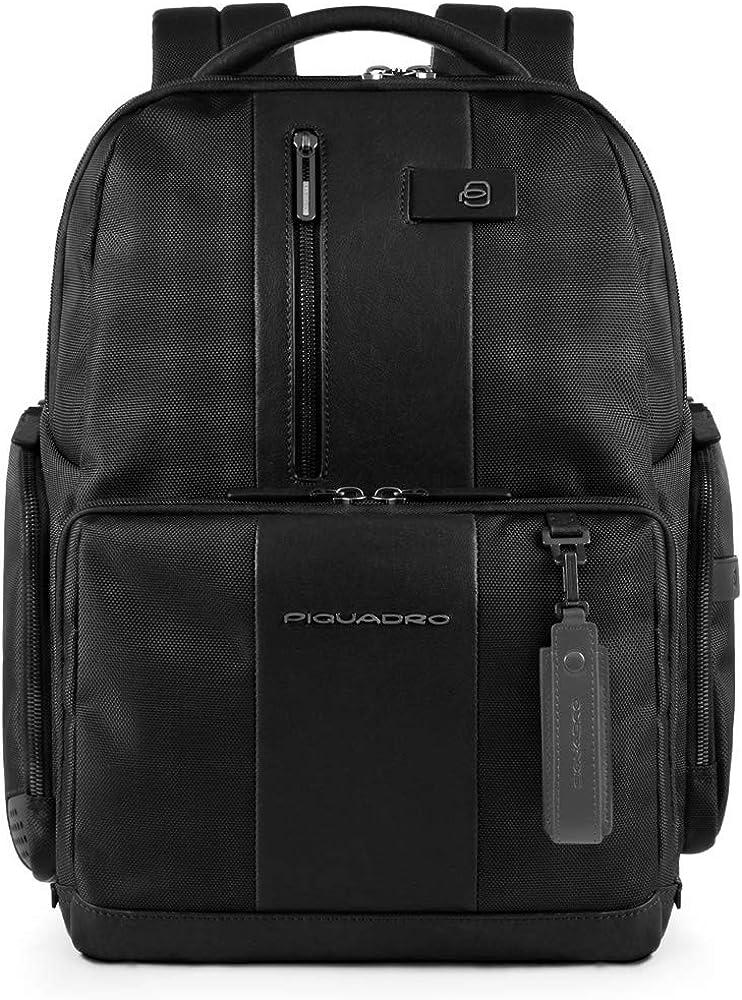 PIQUADRO Backpack Male Black - CA4439BRBM-N