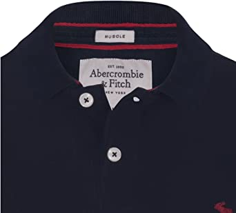 Abercrombie & Fitch - Polo - para hombre blanco Small: Amazon.es ...