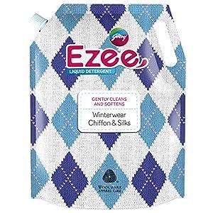 Godrej Ezee Liquid Detergent Refill Pouch – Winterwear, Chiffon & Silks (2kgs)