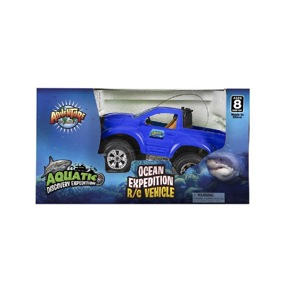 Bargain World 11.25'' Aquatic R/C Car (With Sticky Notes)