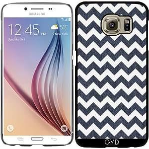 Funda para Samsung Galaxy S6 (SM-G920) - Chefron Zigzag 8 by UtArt